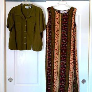 Studio Ease Two Piece Dress